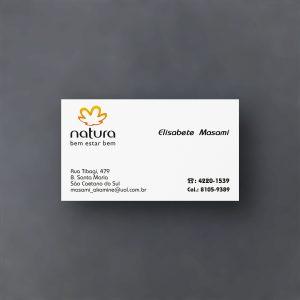 Cartão de visita Natura